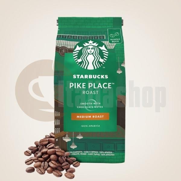 Starbucks Boabe De Cafea Pike Place Medium Roast - 200 gr