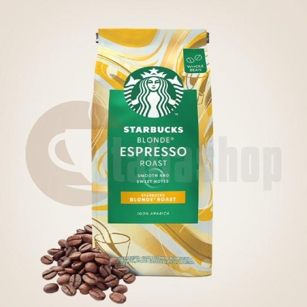 Starbucks Boabe De Cafea Blonde Espresso Roast - 200 gr