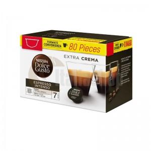 Dolce Gusto Espresso Intenso 80 pc + 20 Mix Capsule