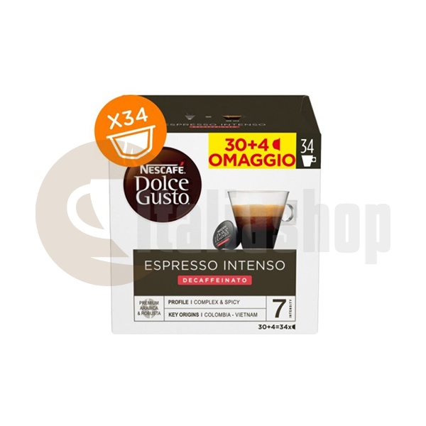 Dolce Gusto Espresso Intenso Dek - 34 Pcs.