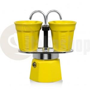 Bialetti mini express Espressor culoare galben