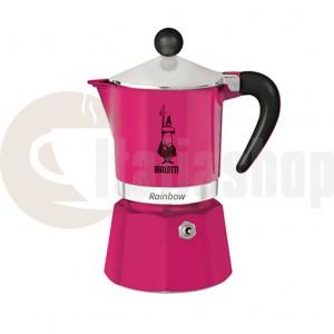 Bialetti rainbow Espressor 6 cesti, culoare roz
