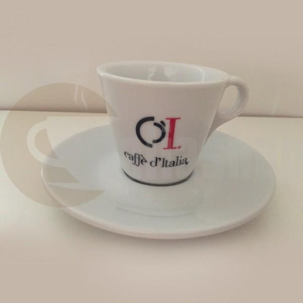 Caffe Ditalia Set Cești Espresso Din Porțelan