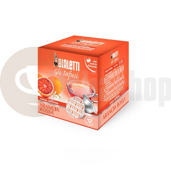 Bialetti ceai din portocala rosie 12 bucati