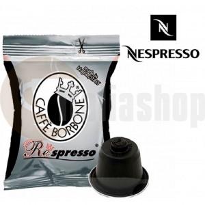 Nespresso capsule compatibile Borbone nero 100 buc.