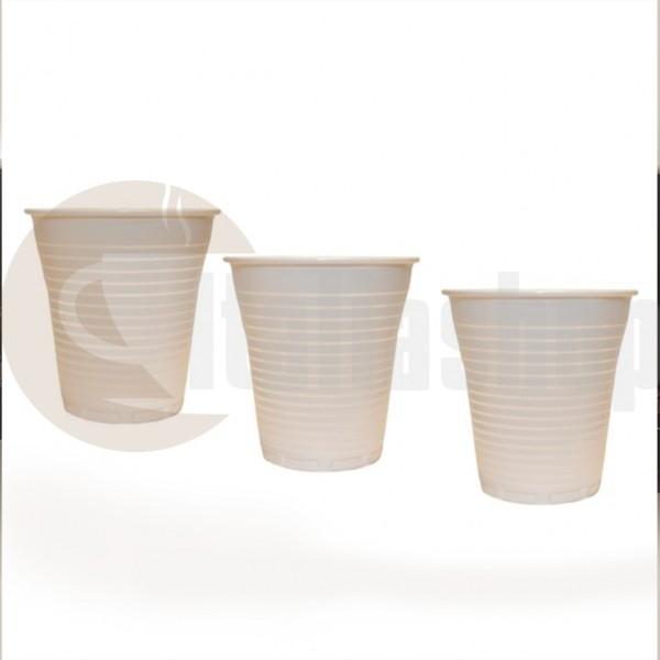 Espresso Café Pahare Din Plastic - 100 Buc.