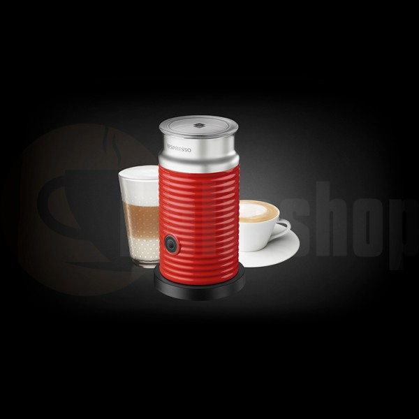 Nespresso Aeroccino rosso