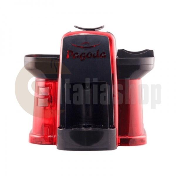 Pagoda mașină de cafea Lavazza Point culoare neagră + 1000 de capsule Manuel + 1 Cozonac
