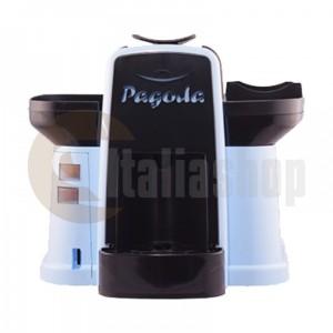 Pagoda mașină de cafea Lavazza Point culoare albastră + 1000 de capsule Manuel + 1 Cozonac