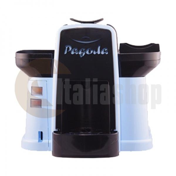 Pagoda mașină de cafea Lavazza Point culoare albastră + 1000 de capsule Manuel