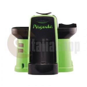 Pagoda mașină de cafea Lavazza Point culoare verde+ 1000 de capsule Manuel + 1 Cozonac