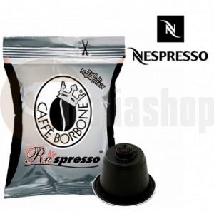 Nespresso capsule compatibile Borbone nero 50 buc.