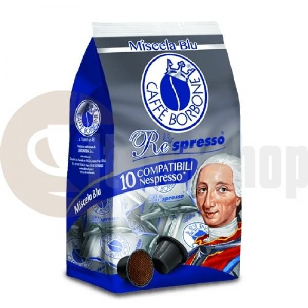 Nespresso Capsule compatibile Borbone Blu 10 buc