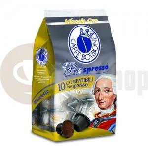 Nespresso Capsule compatibile Borbone Oro 10 buc