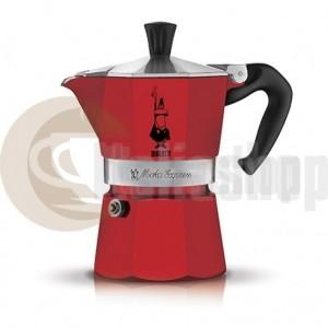 Bialetti Moka Express Pentru 1 Ceașcuță, Culoare Roșie