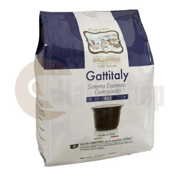 Caffitaly Capsule Compatibile Gattopardo Buon Blu 16 Bucăți