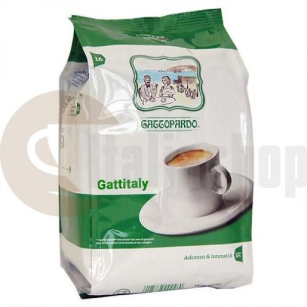 Caffitaly Capsule Compatibile Gattopardo Dek 16 Bucăți