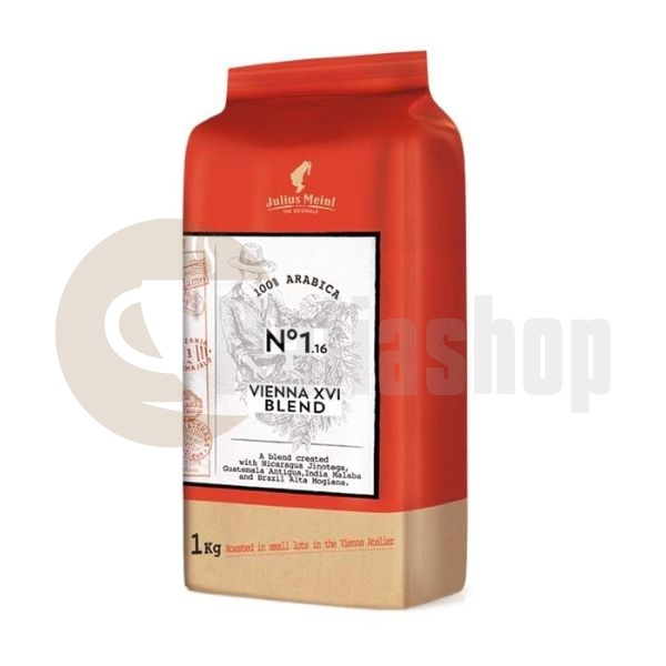 Cafea boabe Julius Meinl The Originals Vienna XVI Blend 1 kg