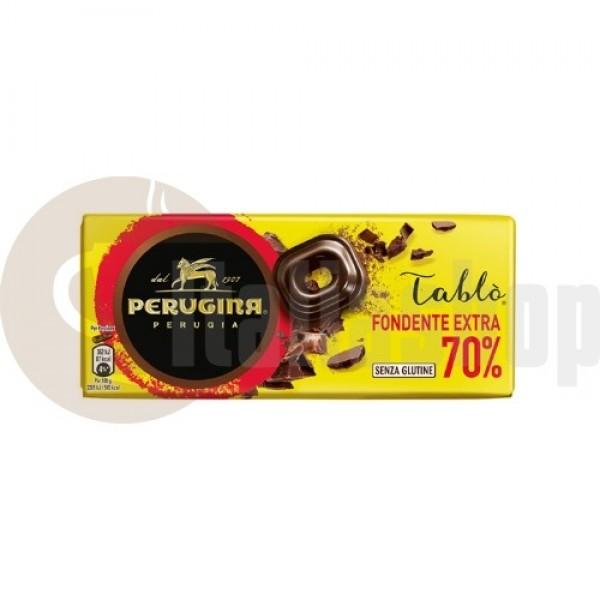 Perugina Ciocolată Naturală 70% Cacao - 80 Gr.