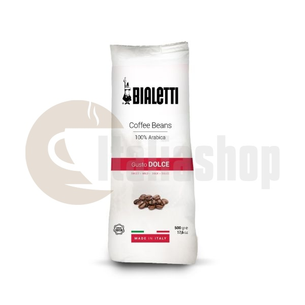 Cafea Boabe Bialetti Gusto Dolce - 500 Gr.