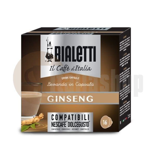 Dolce Gusto Capsule Compatibile - Bialetti Ginseng - 16 Buc.