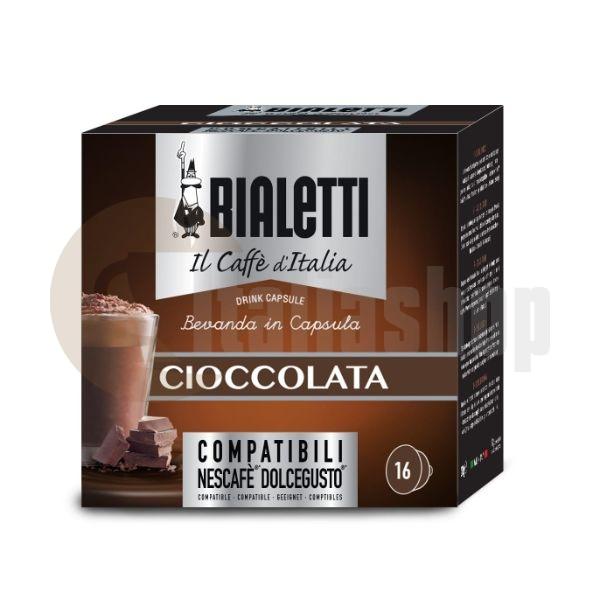 Dolce Gusto Capsule Compatibile - Bialetti Cioccolata- 16 Buc.