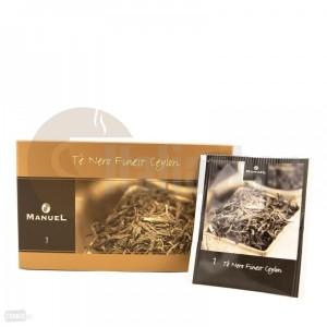 Manuel Ceai negru Ceylon în plicuri 1