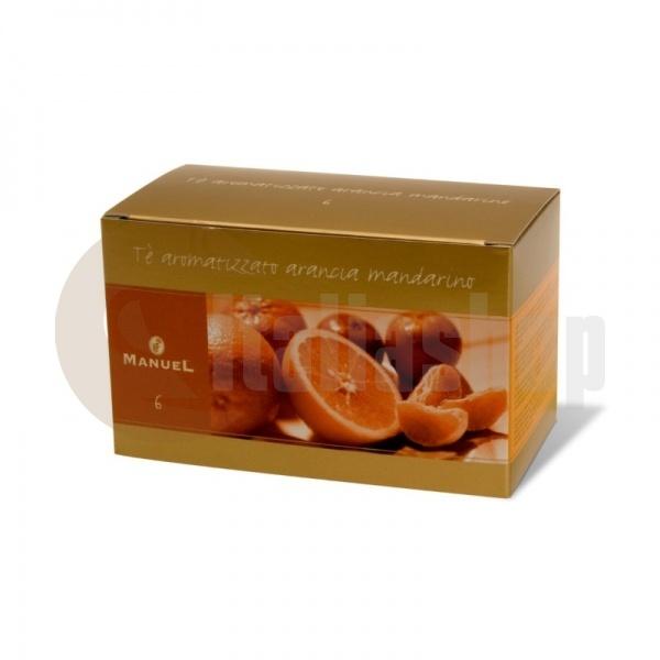 Manuel Ceai Cu Aromă De Portocală Și Mandarină În Plicuri №6