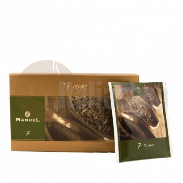 Manuel Ceai verde în plicuri 7