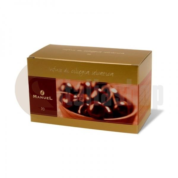 Manuel Ceai cu aromă de cireșe în plicuri 10