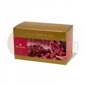 Manuel Ceai cu aromă de căpșuni de pădure în plicuri 11