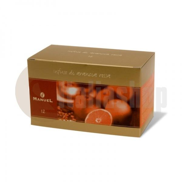 Manuel Ceai cu aromă de portocală roșie în plicuri 12