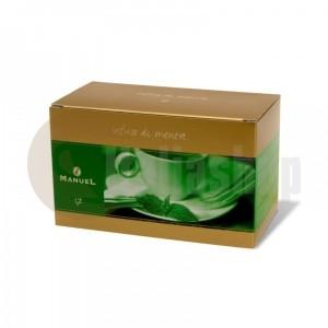 Manuel Ceai cu aromă de menta în plicuri 17
