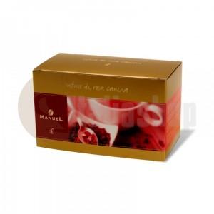 Manuel Ceai cu aromă de  măceși în plicuri 18