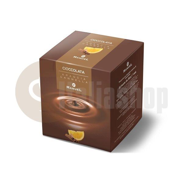 Manuel Ciocolată Caldă Pudră Cu Portocală Și Scorțișoară