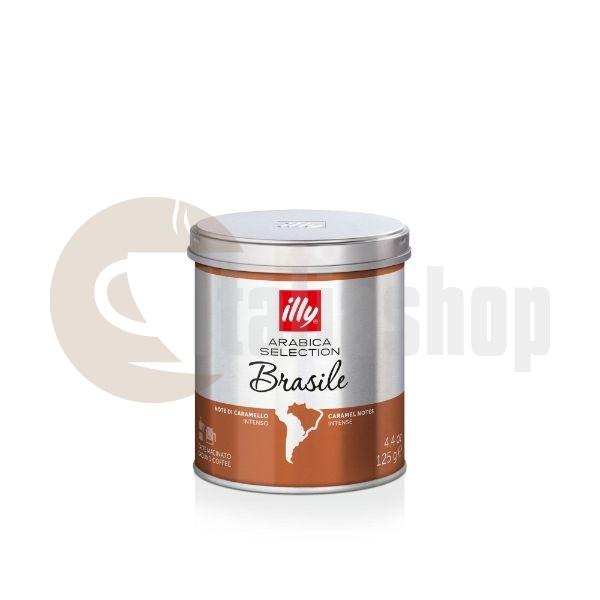 Illy Brasile Cafea Măcinată - 125 Gr .