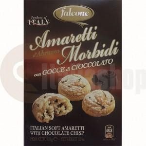 Falcone amaretti сu bucatele de ciocolata