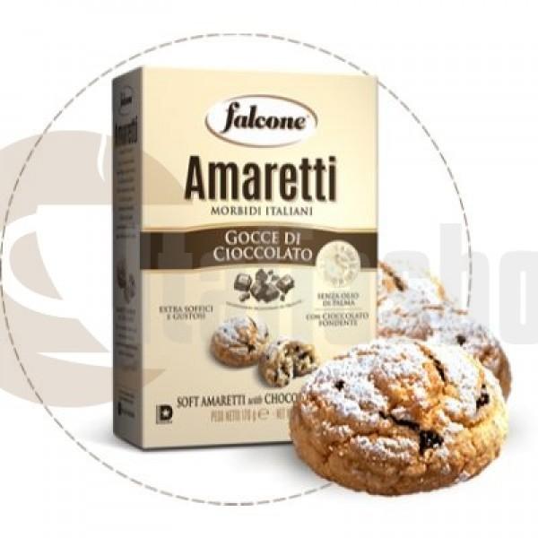 Falcone Amaretti Сu Bucatele De Ciocolată