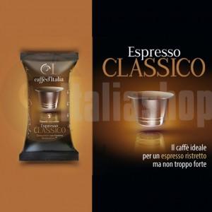 Nespresso Capsule Compatibile Caffè D'italia Classico - 40 Buc.