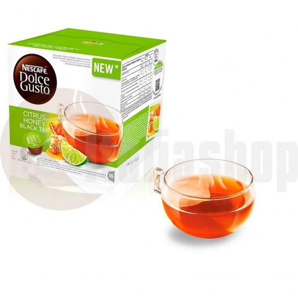 Dolce Gusto Ceai negru cu Miere din Citrice - 16 Buc.