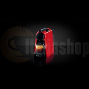 Nespresso Esenza mini rossa delonghi  +10 buc capsule LOR compatibile + 10 buc capsule BIALETTI + 10 buc ILLY capsule