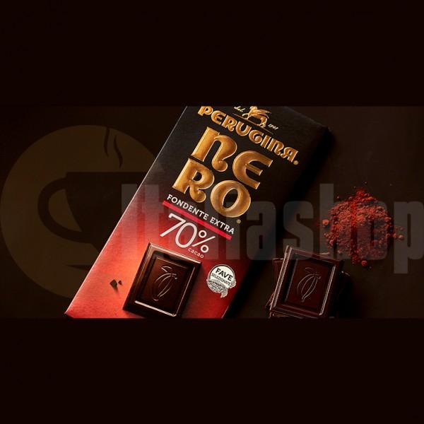 Baci Perugina extra ciocolata neagra 70% pudra de cacao