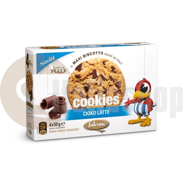 Falcone cookies cioko latte - 4 bucati per ambalaj