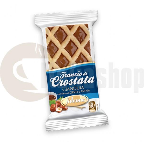 Falcone crostata gianduia - 4 bucati per ambalaj