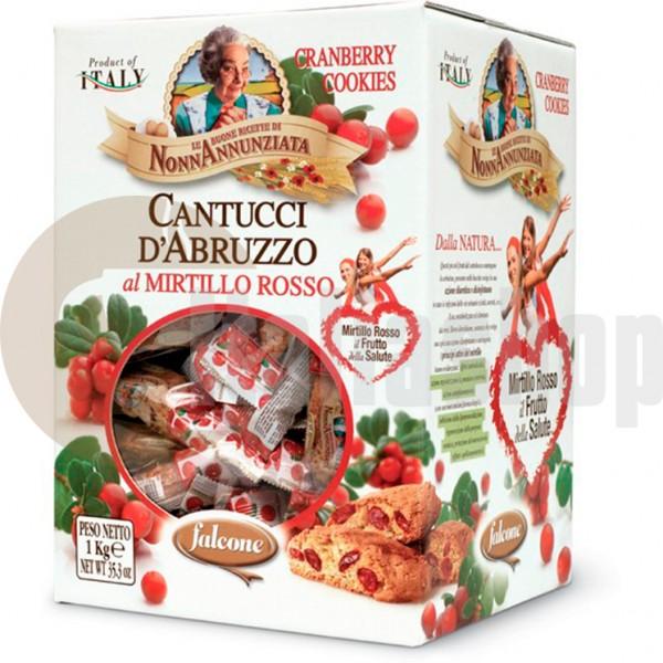 Falcone cantucci al mirtillo rosso 1 kg