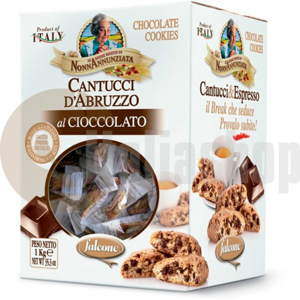 Falcone Cantucci Al Cioccolato - 1 Kg.